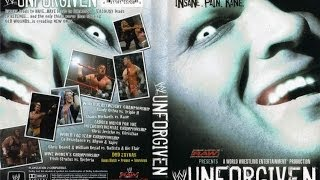 WWE UNFORGIVEN 2004 DVD Review