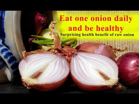 Eat one onion daily and be healthy | Surprising health benefit of raw onion