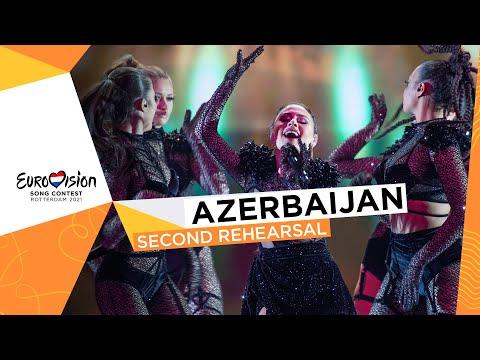Efendi - Mata Hari - Second Rehearsal - Azerbaijan 🇦🇿 - Eurovision 2021
