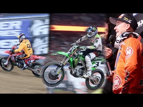 Supercross Glendale 2019! Exclusive Track Access! | Clintus.tv