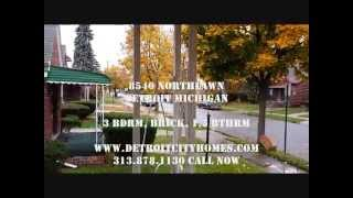 8540 Northlawn Detroit Section 8 Go Section 8 Detroit City Homes