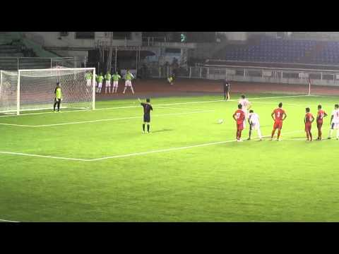 Azkals' Phil Younghusband's Penalty Kick