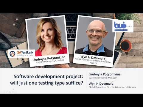 Software development project  will just one testing type suffice
