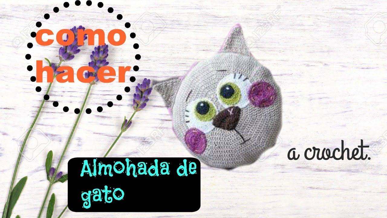 almohada de gato - Amigurumis patrones tejidos 💜 TEJIDOS ...