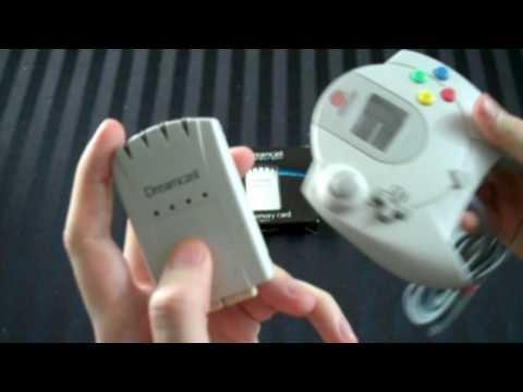 Keep Dreaming - Official Sega Dreamcast 4X Memory Card - Adam Koralik