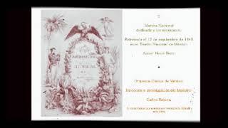 Henri Herz:Marcha Nacional dedicada a los Mexicanos 1849