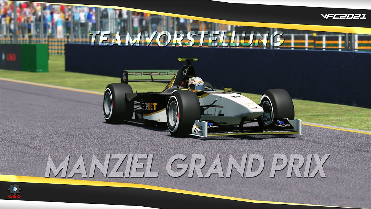Virtual Formula Championship 2021 - Manziel Grand Prix Teamvorstellung