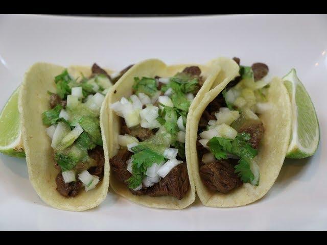 Carne Asada Tacos Recipe - How to Make Steak Tacos