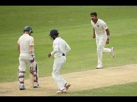 Day 2 -- 2nd Test Australia v India at Brisbane, Dec18, 2014