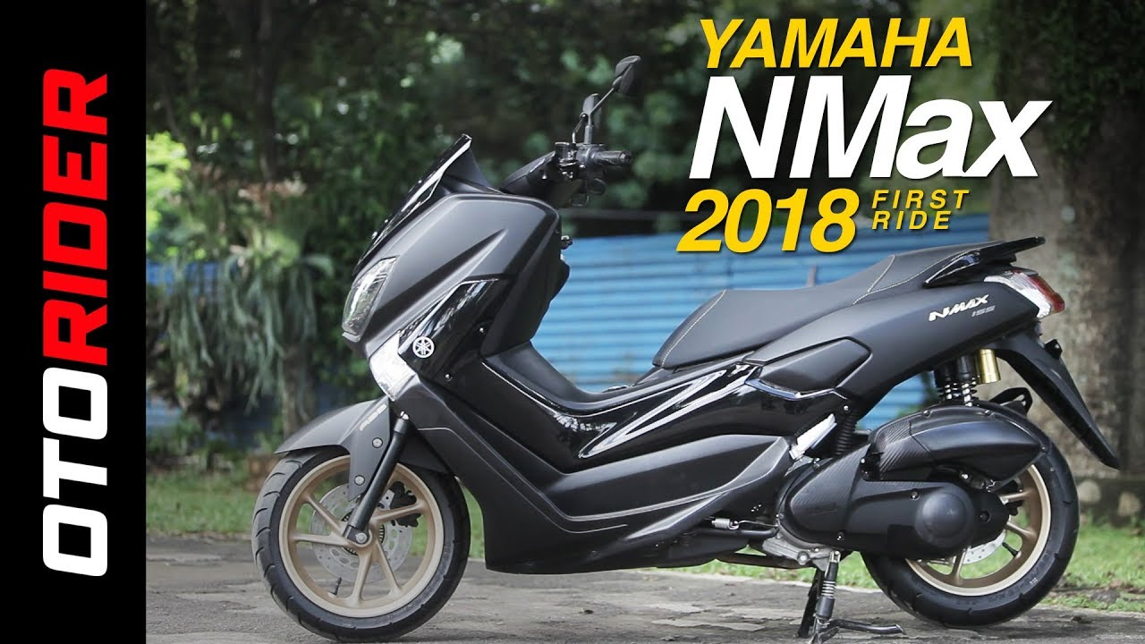 Yamaha NMax 2018 First Ride Review Indonesia
