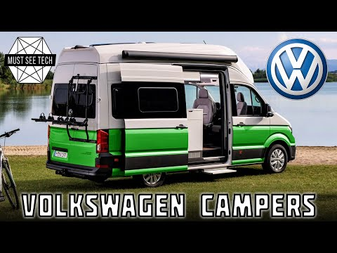 Top 10 Campers and Practical Motorhomes Based on Volkswagen Vehicles