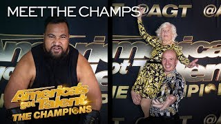 The Competition Is ON For Eddie Williams and Paddy & Nicko! - America's Got Talent: The Champions