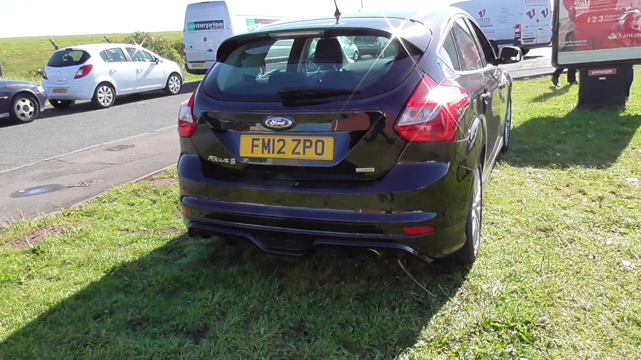 ford focus 1.6 182 ecoboost zetec s 5dr u23026 - youtube