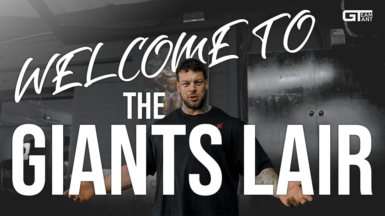 WELCOME TO THE GIANT'S LAIR // 2021 GYM TOUR & UPDATE