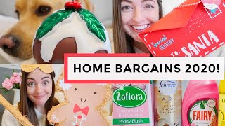 HOME BARGAINS CHRISTMAS 2020 COME SHOP WITH ME & HAUL!