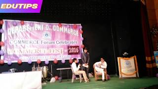 Commerce Fest (Assam University)