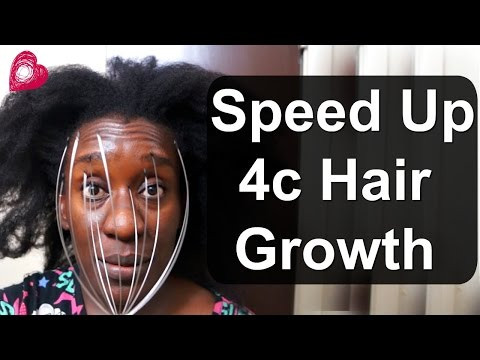 3 WAYS To Massage Your Scalp to GROW Natural HAIR FASTER (4c Hair)