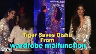 Disha ESCAPES wardrobe malfunction, thanks to Tiger