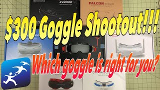 $300 FPV Goggles Shootout! - What are the best FPV Goggles? (To Me)