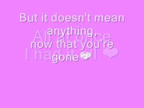 Alicia Keys - Doesn't Mean Anything [Lyrics]