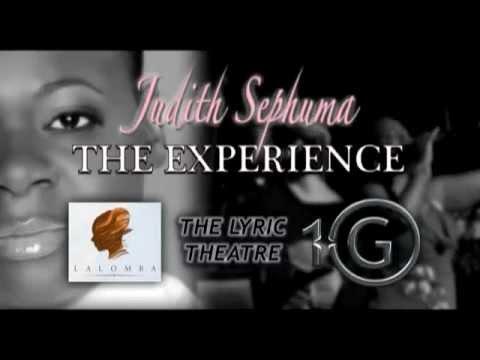 Judith Sephuma The Experience Ad