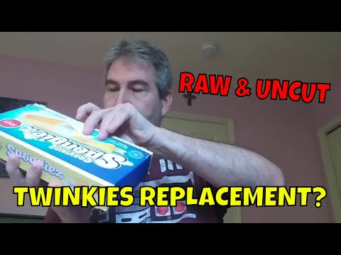 Are Spongiez A Twinkie Replacement? - Raw & Uncut, Eating The Dollar Stores