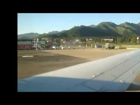 Arrivée à fort dauphin avec Air Madagascar
