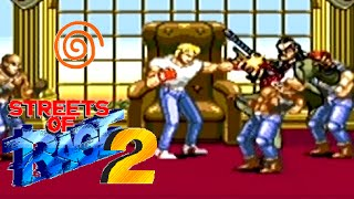 Streets of Rage 2 playthrough (Dreamcast)