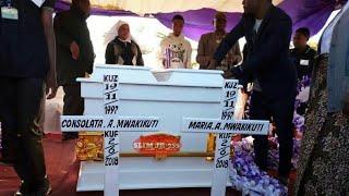 LIVE MAZISHI:MAELFU YA WATU VIONGOZI MBALIMBALI WAWALILIA MARIA CONSOLATA WALIKUWA MASHUJAA