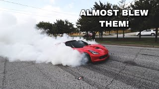 I SHREDDED MY CORVETTE TIRES!