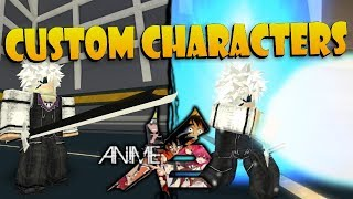 EL PERSONAJE ULTIMATE CUSTOM!! | Roblox: Anime Cross 2