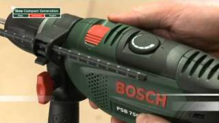 Features of: The Bosch Compact Generation Impact Drills