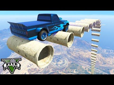 GTA V Online: A RAMPA dos TUBINHOS com NOVO CARRO!!! (YOSEMITE)