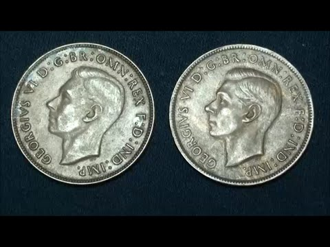 LOOK AT OLD AUSTRALIAN COINS from BANK TELLER - BANK TELLER TREASURE