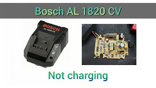 Repair Charger Bosch Al 1820 Cv Water Damage Youtube