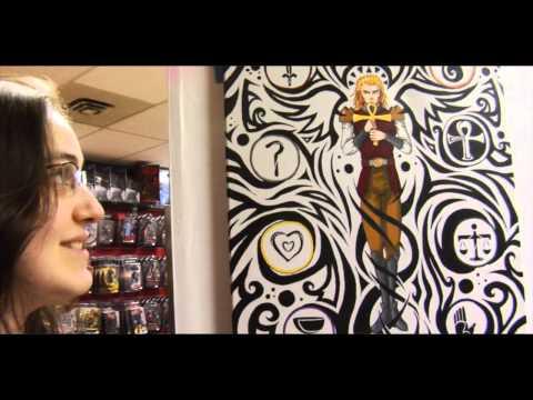 8-Bits of Destiny Art Show Opening @ Metropolis Comics & Toys (HD)