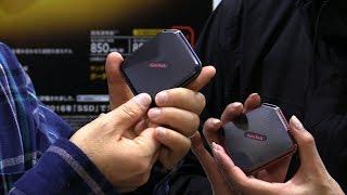 サンディスクの人気ポータブルSSDが、ユーザーの声に応えて1TBまで大容...