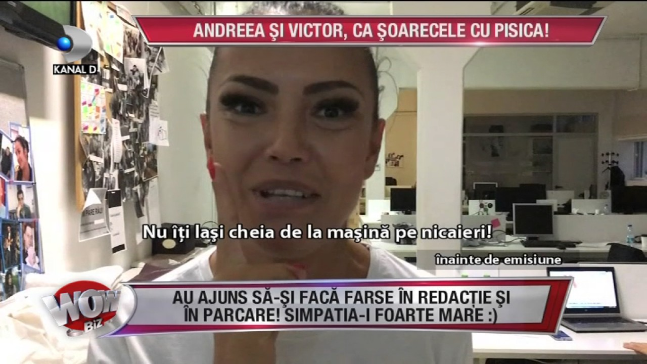 1209277d64 WOWBIZ (03.07.2017) - Andreea Mantea i-a furat cheile lui Victor  Ce s-a  intamplat in culise!