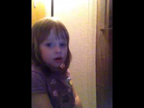 My sister singing the Wonderfilled Anthem