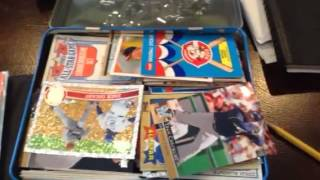 My baseball cards  with hank Aaron and Nolan Ryan!