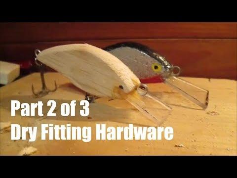 DIY Homemade Crankbait Part 2/3 (Hardware)