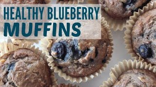 Spelt Banana Blueberry Muffins Recipe | Egg & Dairy Free