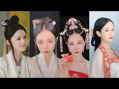 top-beautiful-chinese-old-traditional-hairstyles-tutorial-[锦绣南歌]沈骊歌发型编发教程