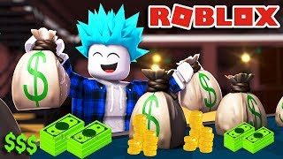 I OPEN MY NEW BANK ULTRA SECURE! Roblox!💰💸 Bank Tycoon