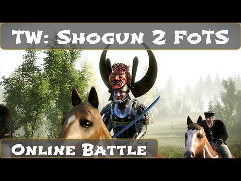 Total War Shogun 2 Fall of the Samurai Online Battle |