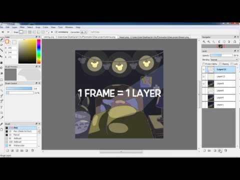 Guide To Firealpaca   Animation for Beginners