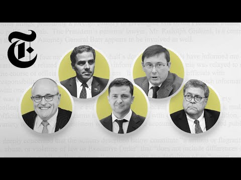 Impeachment, Ukraine And The Whistle-Blower's Complaint: Meet The Key Players   NYT News