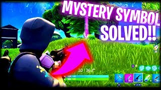 *NEW* SECRET PURPLE LIGHTING BOLT SYMBOL?? || FORTNITE: BATTLE ROYALE!