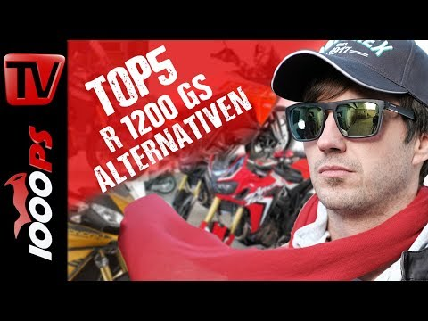 Top 5 - BMW R 1200 GS Alternativen - Die zweitbeste BMW R 1200 GS