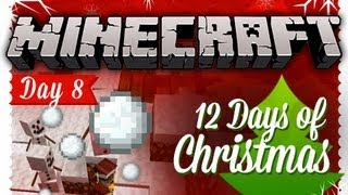 """GOLEMS"" 12 Days of Christmas Minecraft Special - DAY 8"